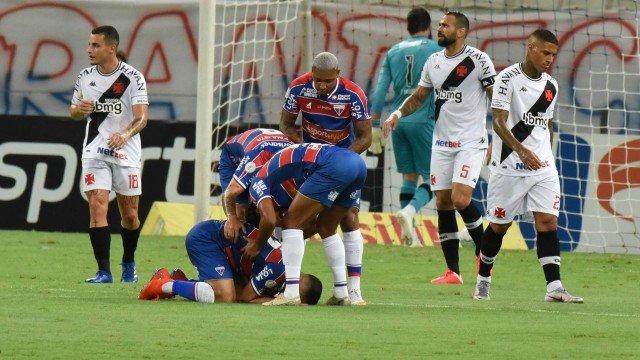 Vasco é presa fácil para o Fortaleza e se complica no Brasileiro 3 a 0