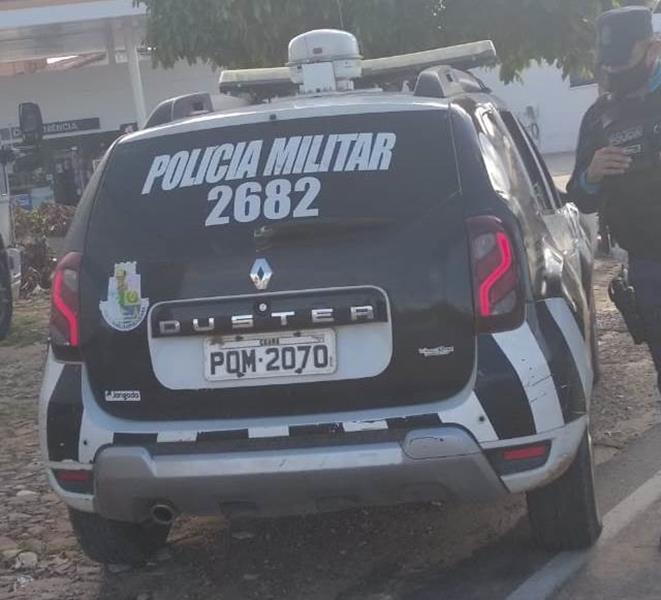 Viatura PM de Barbalha. Foto: Arquivo/Agência Caririceara.com