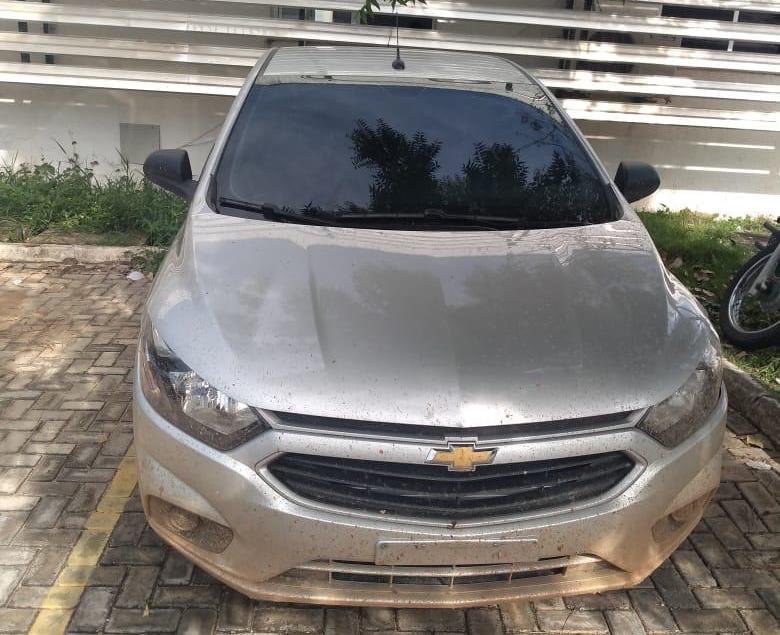 Automóvel apreendido em poder de Muriçoca. FOTO: REDES SOCIAIS