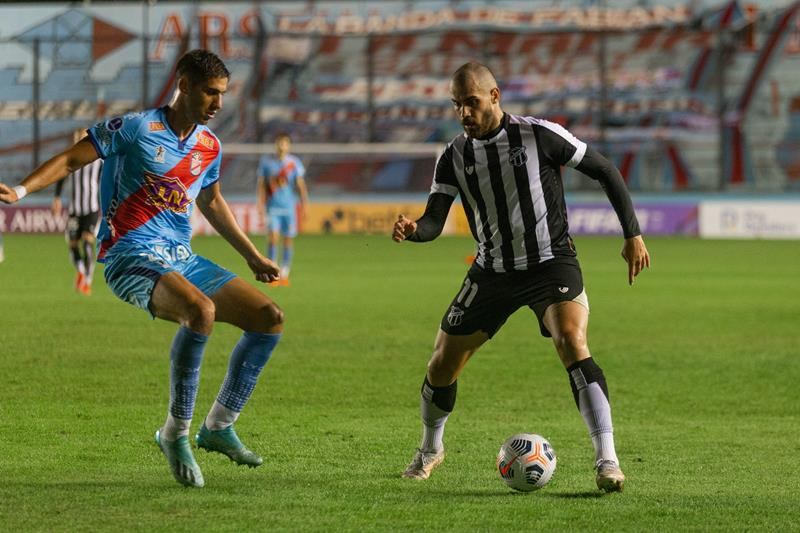 Ceará empata sem gols com o Arsenal-ARG na Argentina FOTO Fausto Filho Ceará SC