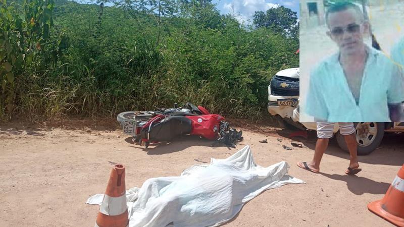 Motociclista morre após colidir contra carro de prestadora de serviços a ENEL em Nova Olinda FOTO DE EDSON ROTA (1)
