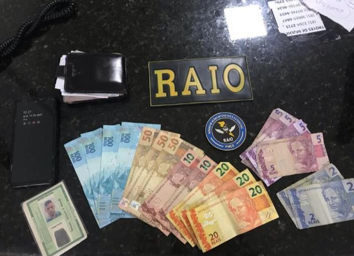 Polícia Militar apreende R$ 400 em notas falsas em Barbalha FOTO REDES SOCIAIS