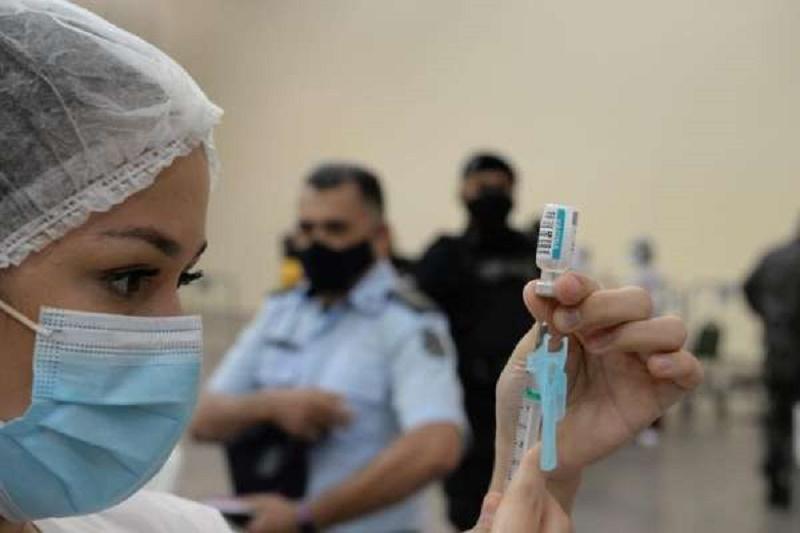 vacinação dos profissionais do Sistema de Segurança Pública,