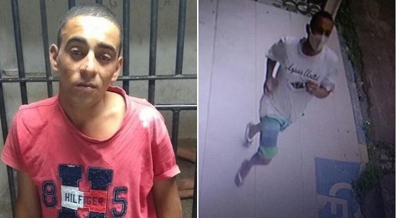 Francinaldo de Sousa, 23 anos – acusado roubo em Crato 06.Maio-2021