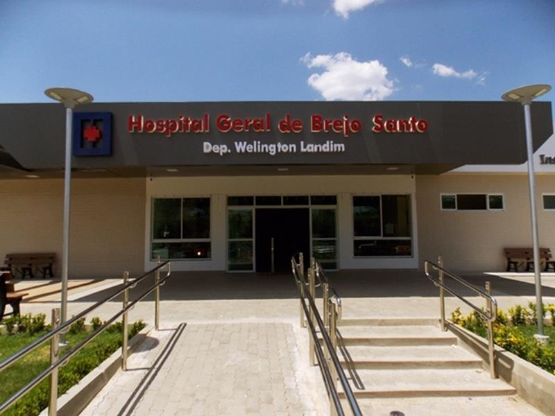 Hospital Geral de Brejo Santo - CE FOTO DIVULGAÇÃO