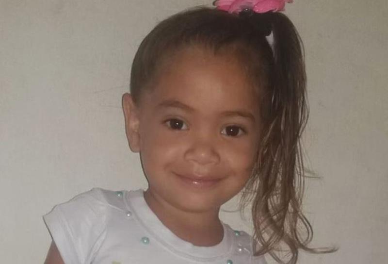 Pâmela Nicole Vieira , 3 anos e 7 meses - Foto: Arquivo pessoal