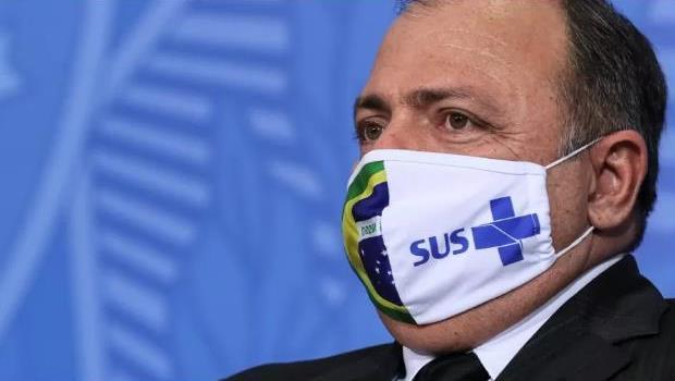 Pazuello, em foto em setembro de 2020. Imagem: Isac Nóbrega/PR