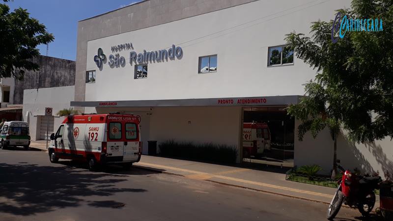 Hospital São Raimundo do Crato. Foto: Jota Lopes /Agência Caririceara.com