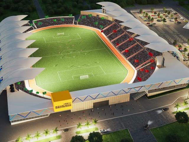 Foto: Projeto da Arena Romeirão/Governo do Ceará