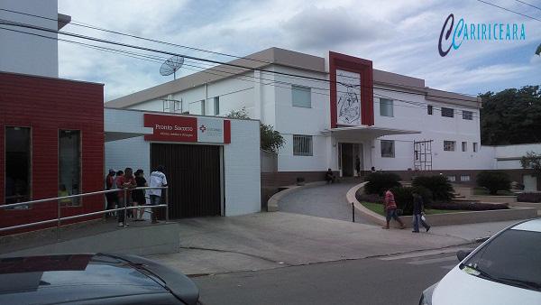 Hospital São Camilo do Crato. Foto: Jota Lopes/Agência Caririceara.com