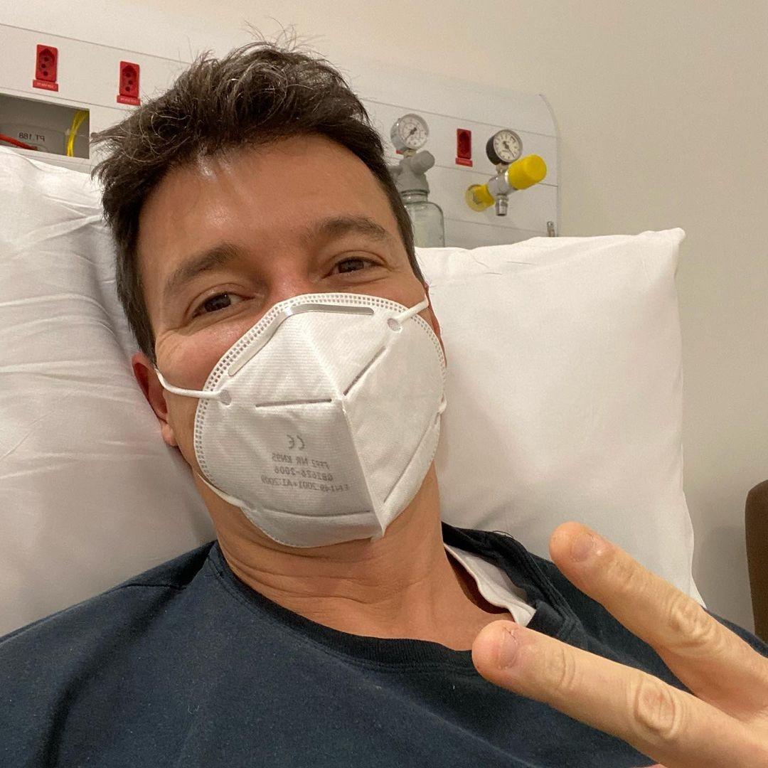 Com Covid-19, Rodrigo Faro posta do hospital (Foto: Reprodução)