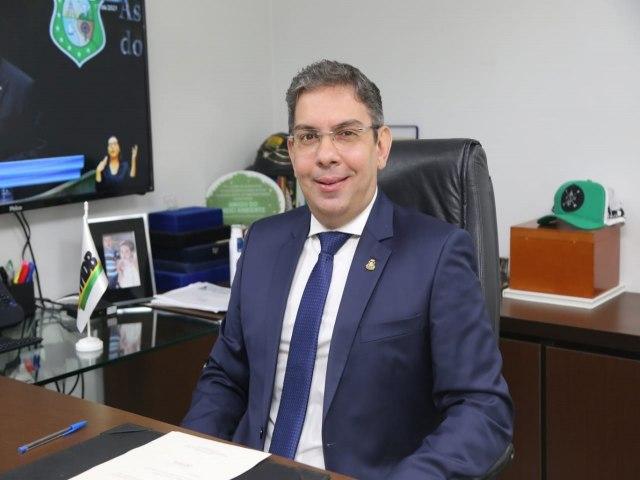 Deputado estadual Branco (MDB)  (Foto: ASCOM