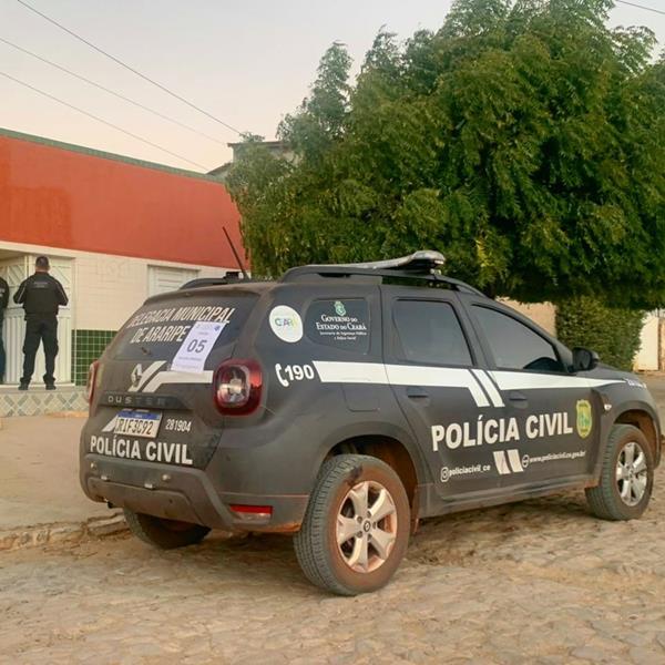 Foto: Polícia Civil do Ceará Divulgação