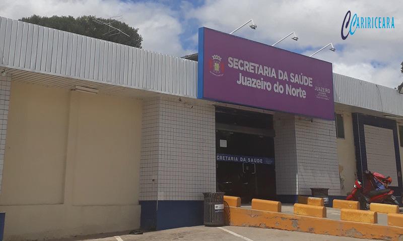 Secretaria municipal da Saúde de Juazeiro do Norte. Foto: Jota Lopes/Agência Caririceara.com