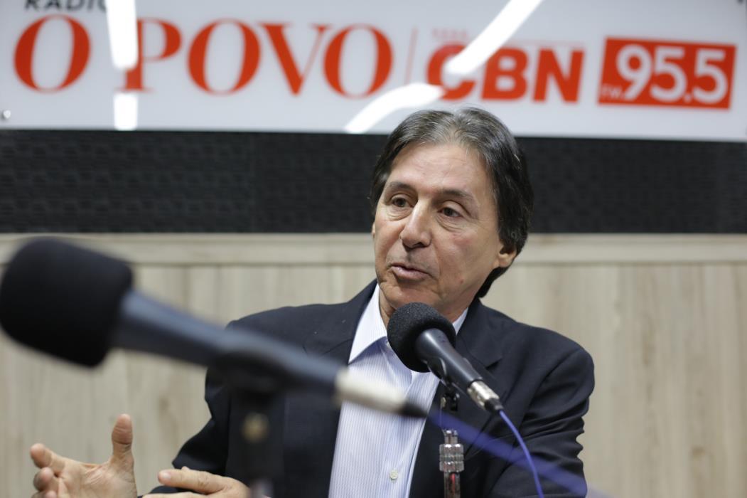 Eunicio Oliveira é ex-presidente do Congresso Nacional. Foto: IANA SOARES.