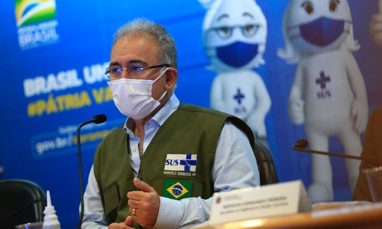 Foto: Reprodução/Twitter/Ministério da Saúde