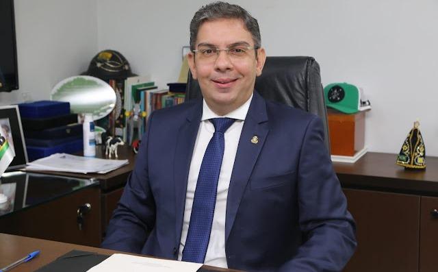 Deputado Estadual Rafael Branco (MDB). Foto: Divulgação