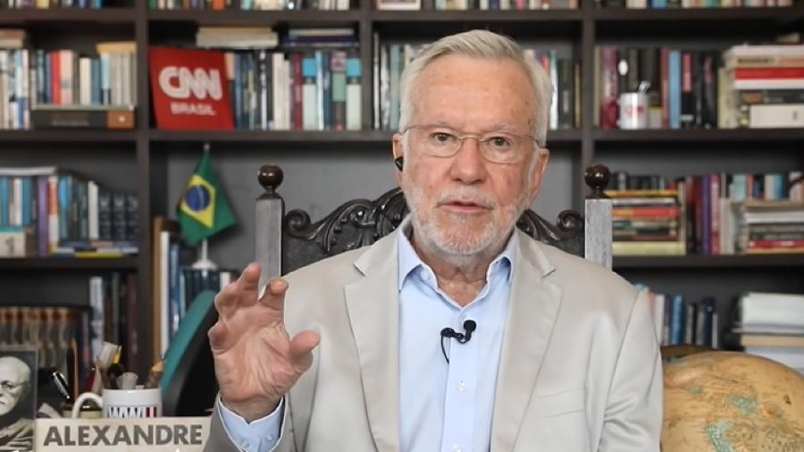 Alexandre Garcia no quadro 'Liberdade de Opinião' da CNN Brasil Imagem ReproduçãoYouTube