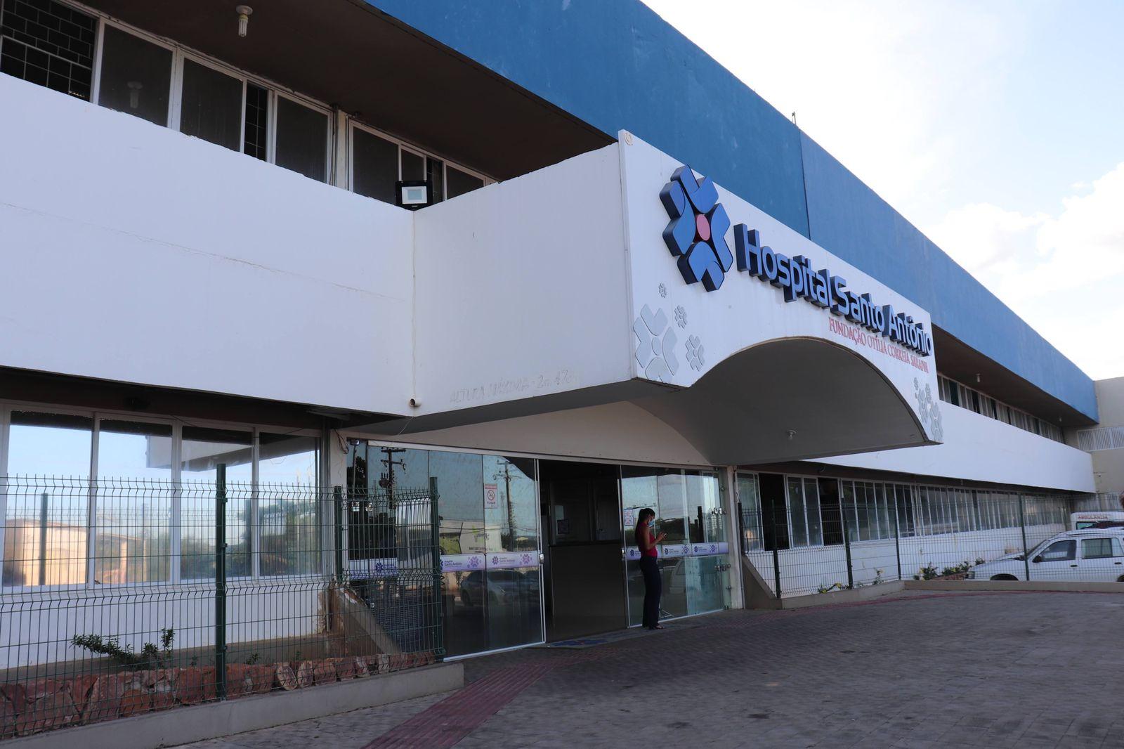 HOSPITAL SANTO ANTONIO DE BARBALHA-CE. FOTO: MONIKE FEITOSA/DIVULGAÇÃO