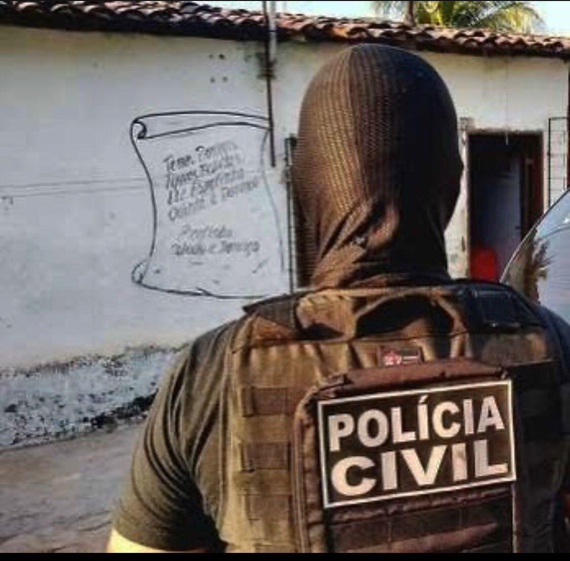 Polícia Civil prende investigado por homicídio em Juazeiro; prisão ocorreu em cumprimento a mandado de prisão preventiva