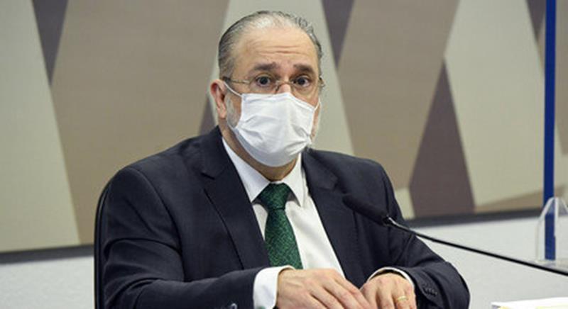 Na imagem, PGR Augusto Aras JEFFERSON RUDY/AGÊNCIA SENADO - 24.08.2021