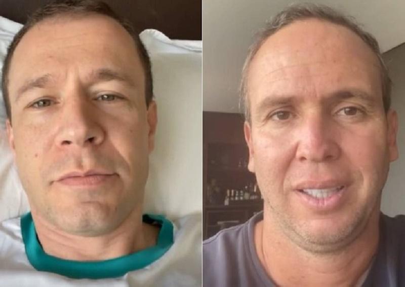 Tiago Leifert sobre Caio Ribeiro, em tratamento de câncer (Foto: Reprodução/Instagram)
