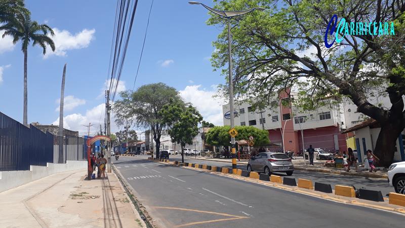 Avenida Castelo Branco em Juazeiro do Norte-CE. Foto: Jota Lopes/Agência Caririceara.com